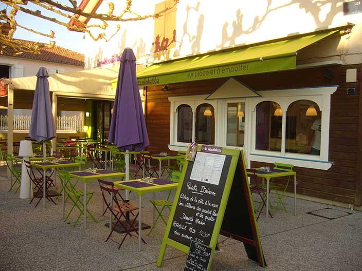 Restaurante en el centro de Vieux Boucau