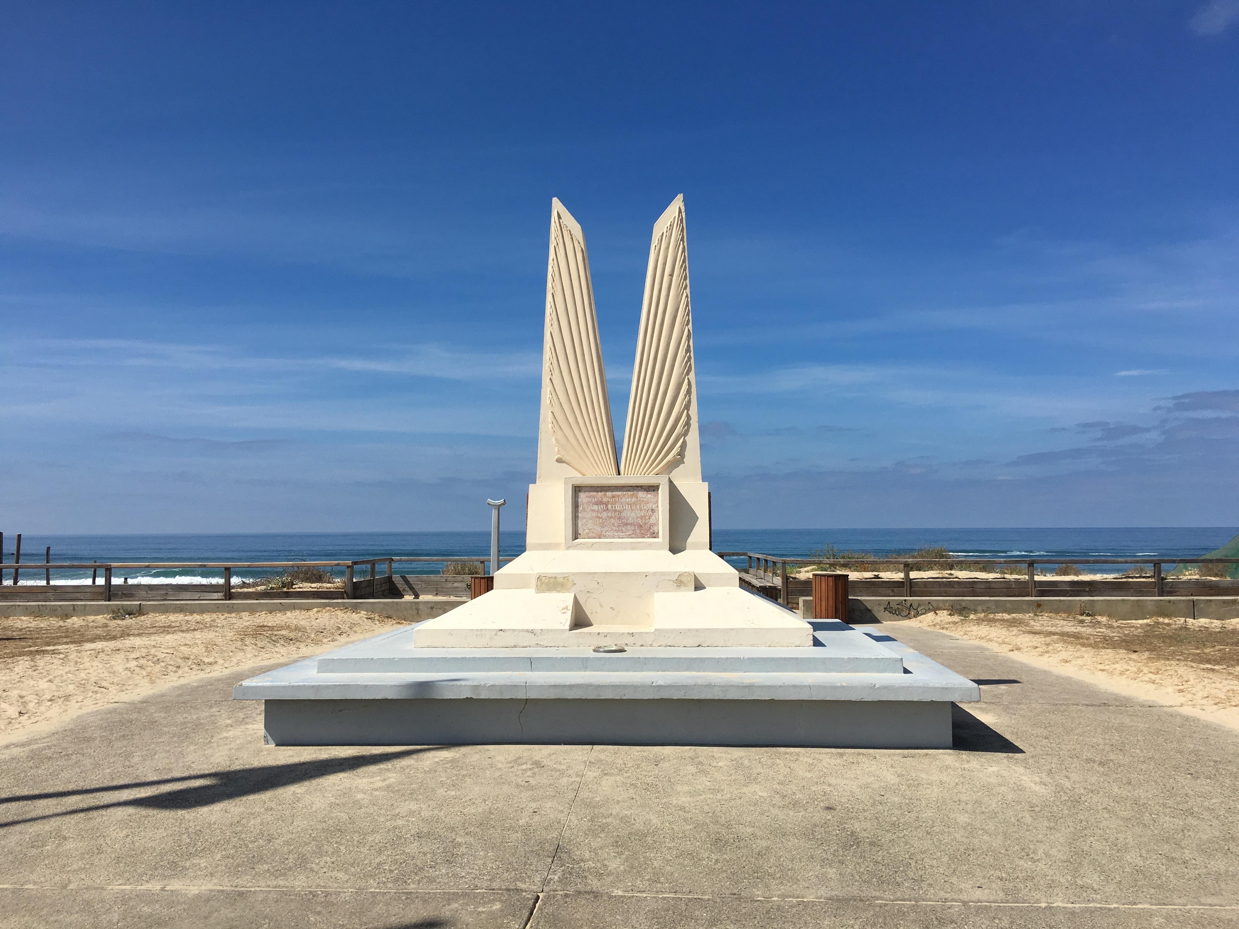 Mimizan. Monumento al aviador