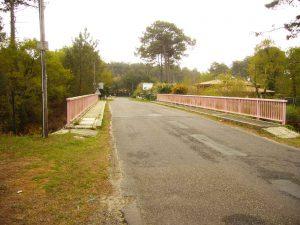 Puente rosa de Contis Sur