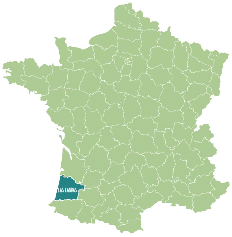 Landas en Francia