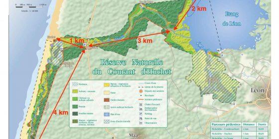 LEON. Ruta por la reserva natural de Huchet