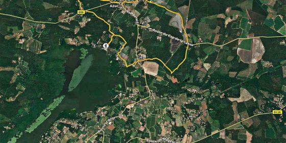 AZUR. Ruta circular Pont du Loup (11,3 km)