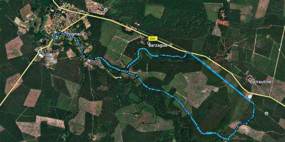 LEVIGNAC. Ruta de Barzague (8,7 km)