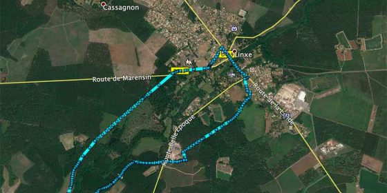 LINXE. Ruta del Molino de Binaou (7 km)