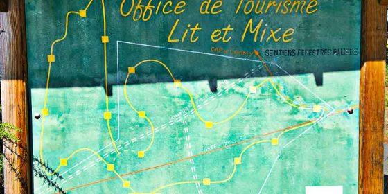 LIT-ET-MIXE. Ruta de santé en forêt (4 km)