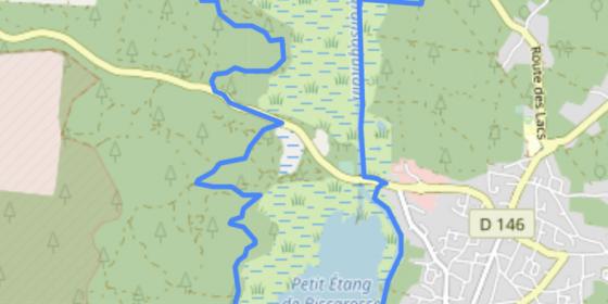 BISCARROSSE. Ruta entre lagos (13,5 km)