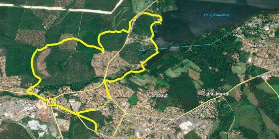 MIMIZAN. Ruta por el lago y el bosque (9,4 km)