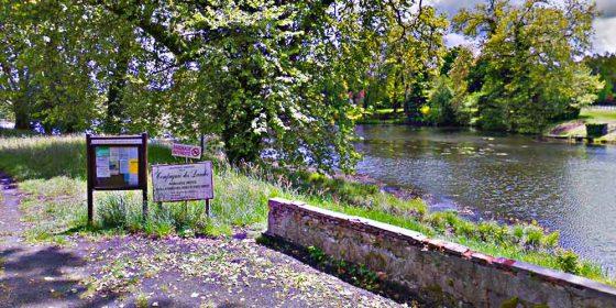 PONTENX-LES-FORGES. Ruta del Courant des Forges (14,7 km)