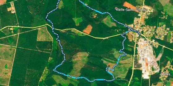 VIELLE-SAINT-GIRONS. Ruta de los Tucs (8,9 km)