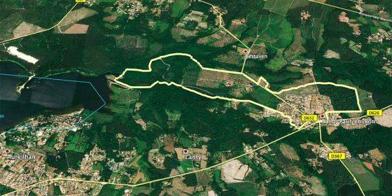 SAINT-PAUL-EN-BORN. Ruta de la historia y los paisajes (9,6 km)