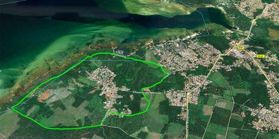 SANGUINET. Ruta del lago Cazaux-Sanguinet (6,6 km)